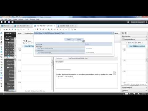 Demo: Todo/Task/Activities with IBM Notes-SmartCloud Engage