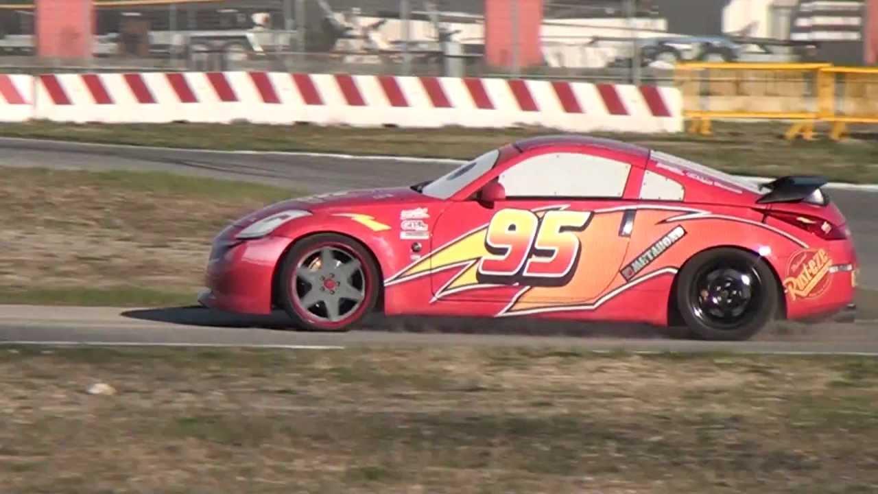 Real Lightning McQueen (Disney Cars Film) Running on Track  Video - YouTube & Real Lightning McQueen (Disney Cars Film) Running on Track : Video ...