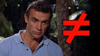James Bond's Epic Battle with Self Doubt and Doctor No   What's the Difference?