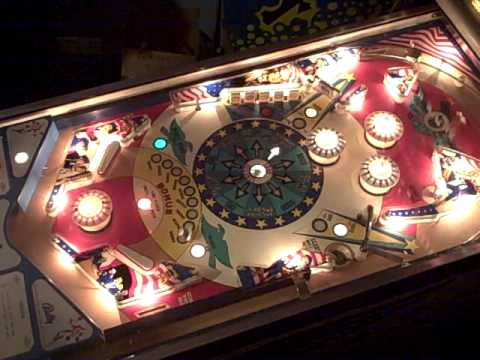 official images first rate watch 1976 Bally Freedom pinball machine - rare version