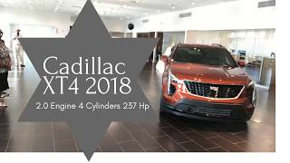 2019 Cadillac XT4 First Look 2.0 Engine 4 Cylinders