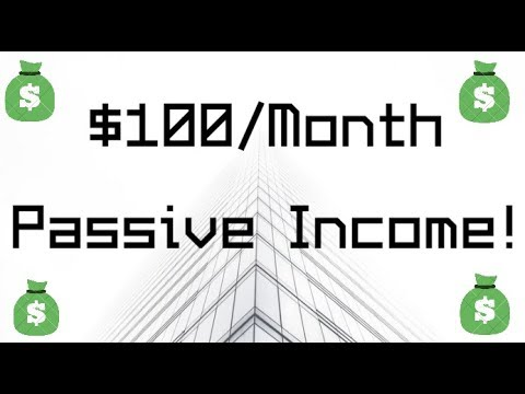 $100/Month in Dividends! Plus, My YouTube Income!