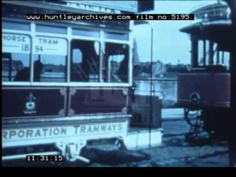 The Passing Of The Tram Car, 1960's - Film 5195