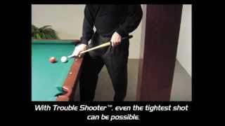 Trouble Shooter Short Pool Cue by Palason Billiard Inc. the original balanced and weighted short-cue