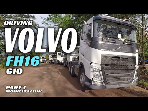 Driving VOLVO FH 16  610 Tractor Head [mobilisation] Part 1