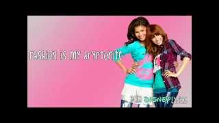 """Fashion Is My Kryptonite"" - Bella Thorne & Zendaya (Lyrics Video) [OFFICIAL FULL] HQ"