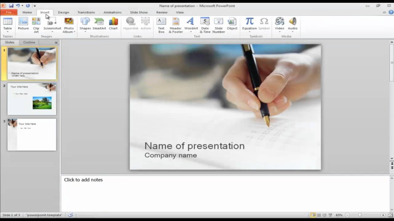 How to add photos and clipart to your powerpoint presentation youtube how to add photos and clipart to your powerpoint presentation toneelgroepblik Choice Image