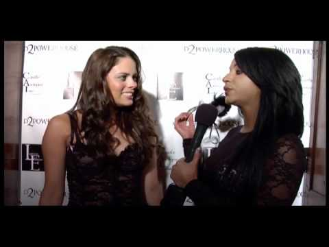 Lauren Elaine UNMASKED: Natalia Flores Interview at LA Fashion Week