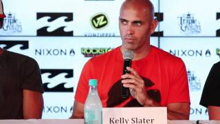 Billabong Pipe Masters in Memory of Andy Irons 2011 - press launch