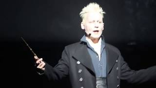 Comic-Con 2018: Johnny Depp as Grindelwald casts a spell at fans in Hall H!