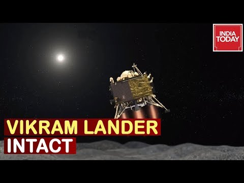 """Vikram Lander In Single Piece"" ISRO Reports, To Re-establish Contact With Lander"