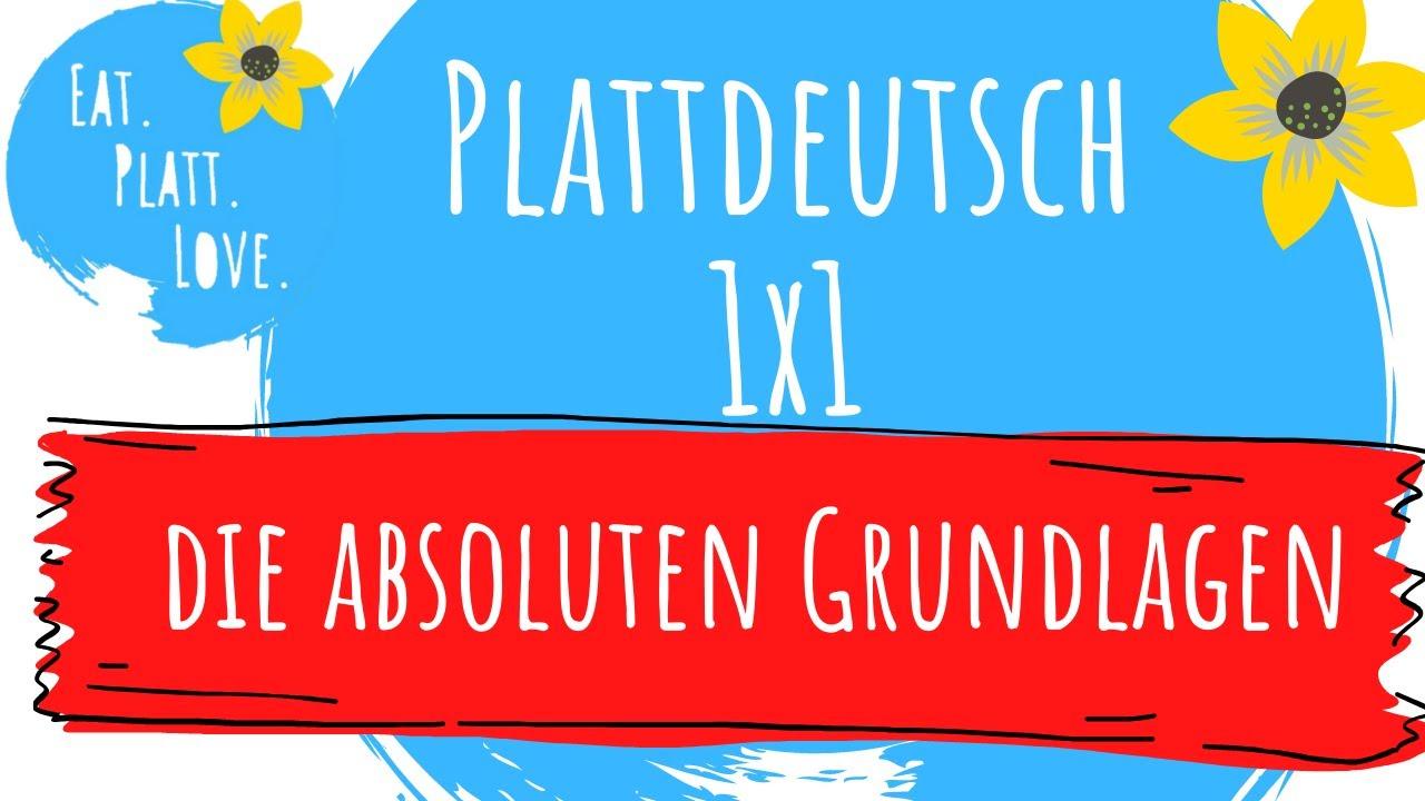 Plattdeutsche Wörterkunde