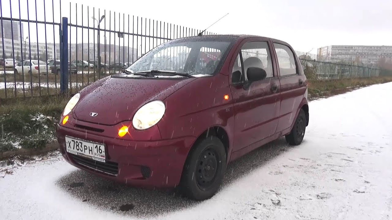 hight resolution of 2007 daewoo matiz start up engine and in depth tour