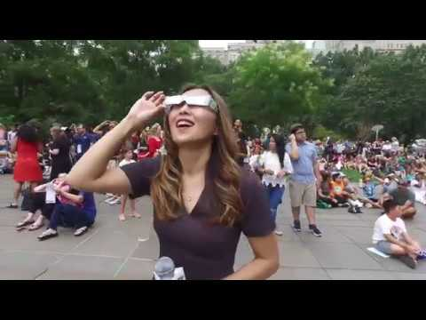 Solar Eclipse 2017 at American Museum of Natural History