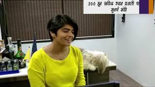 Pallavi Chaudhary REAL DOG LOVER DOMBIVLI speech on premium pets show