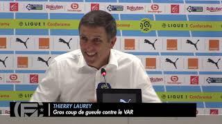 OM/Strasbourg (3-2) : Gros coup de gueule de l'entraîneur strasbourgeois contre l'arbitrage vidéo