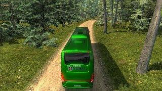 Scania Tourning   Risky road   Sundarban to Shyamnagar   Euro Truck Simulator 2