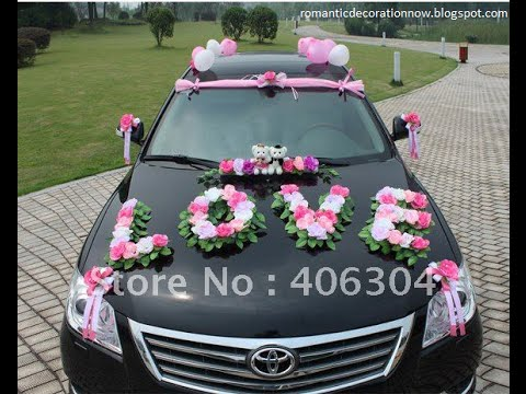 44 ideas cars decoration weddings the bride ideas para la decoraci n del coche bodas la novia - Decoracion coche novia ...