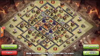 Clash of Clans-BEST! Epic New Th10 Trophy/Clan War Base Design w/275 Walls