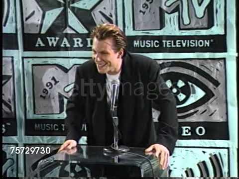 Christian Slater MTV Awards 1991