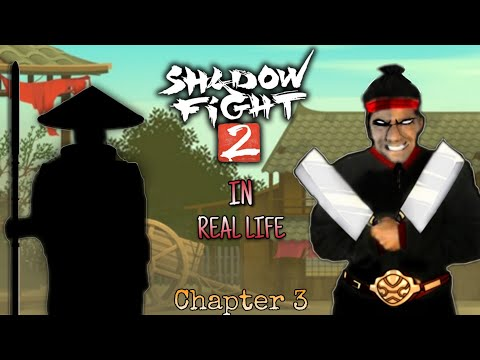 Shadow Fight In Real Life. (Chapter 3) Butcher Boss Battle.