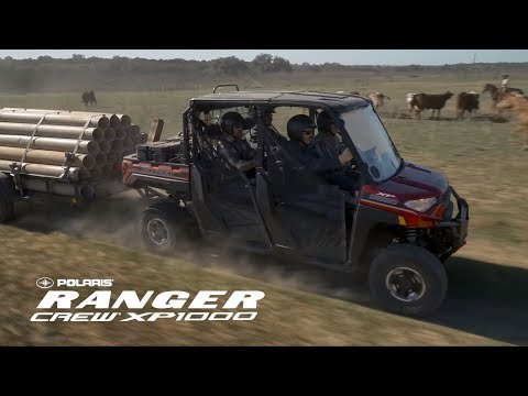 Welcome The 2019 Polaris RANGER Crew XP 1000 EPS