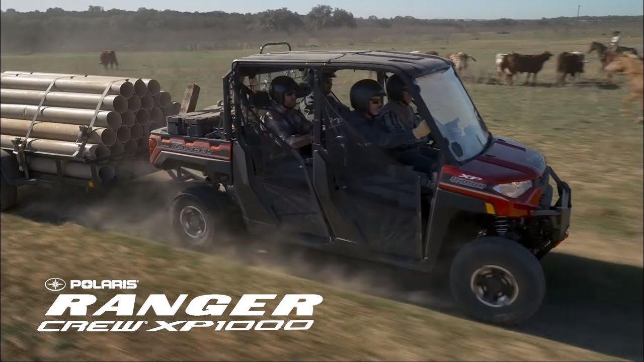 Introducing the all-new RANGER Crew XP 1000 EPS | Polaris Off-Road Vehicles