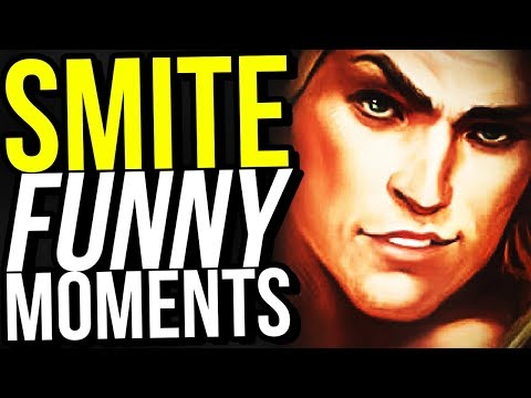 NEW GOD ACHILLES IS INSANELY BROKEN! - SMITE FUNNY MOMENTS