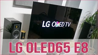 LG OLED E8 ausführliches Hands on - 30min! (GER)