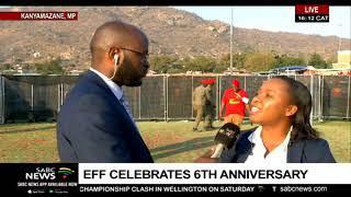 UPDATE:  EFF celebrations in Kanyamazane ongoing