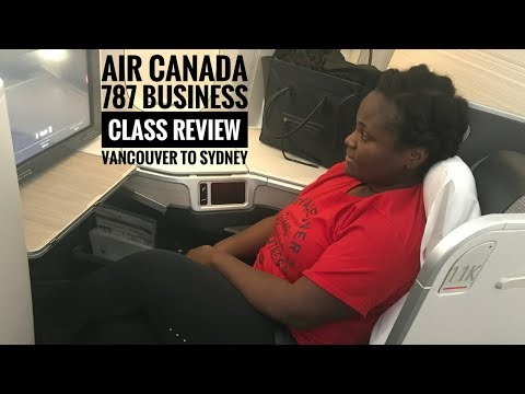 Air Canada 787 Business Class | Vancouver To Sydney