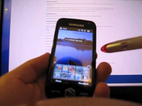 How to unlock a Samsung Omnia i8000L phone with FastGSM.com
