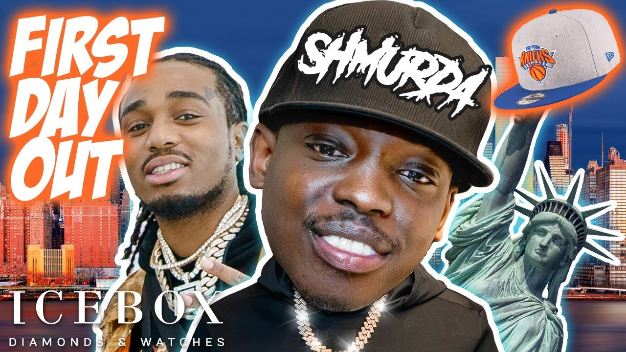 Bobby Shmurda & Quavo Link with Icebox in New York on His First Day Out!
