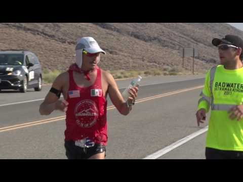 2017 STYR Labs Badwater 135 - Front Runners Summit Towne Pass at Mile 59