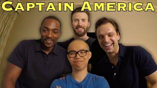 VLOG: Marvel Skype Surprise with Chris Evans and Captain America Civil War Cast