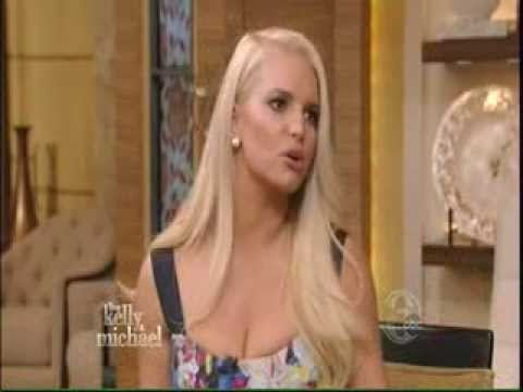 Jessica Simpson Live With Kelly