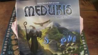 Les tutos de Diego: Meduris un jeu de S.Dorra et R.zur Linde, ed. Haba