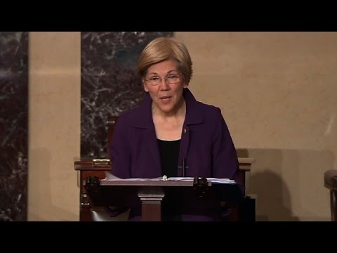 Warren reprimanded for criticism of Sessions