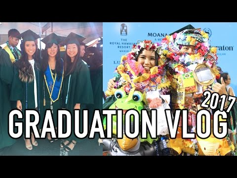VLOG #5 | GET READY WITH ME FOR GRADUATION (UH MANOA) | Michelle Kanemitsu