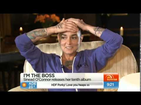 Magda Davitt FKA Sinéad O'Connor interview Weekend Sunrise  20140907