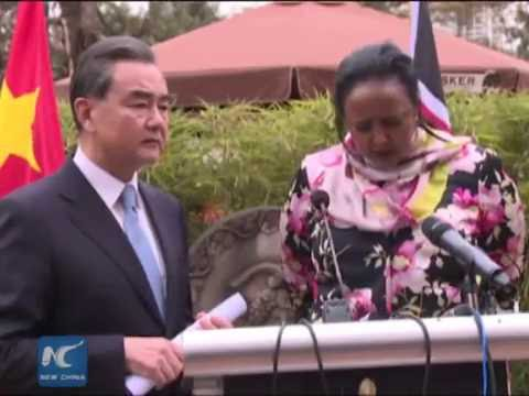 Chinese FM: Chinese-built railways model of China-Africa coop