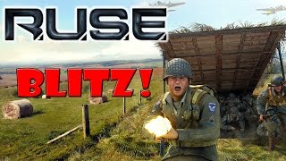 American Blitzkrieg! ➤ R.U.S.E Multiplayer Gameplay!