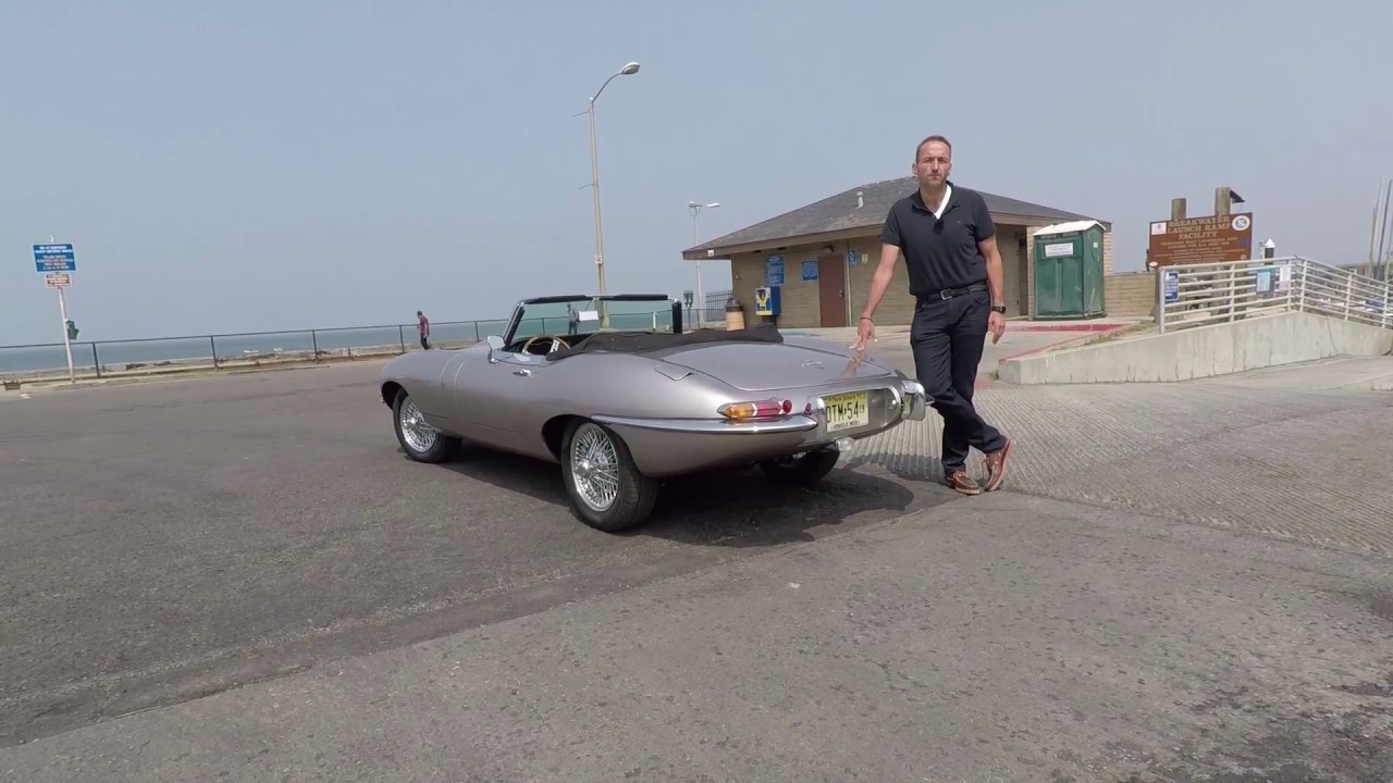 2019 jaguar e-type zero - first drive video review - youtube