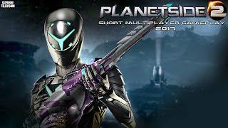 PlanetSide 2 (PC) Short Multiplayer Gameplay -2017-