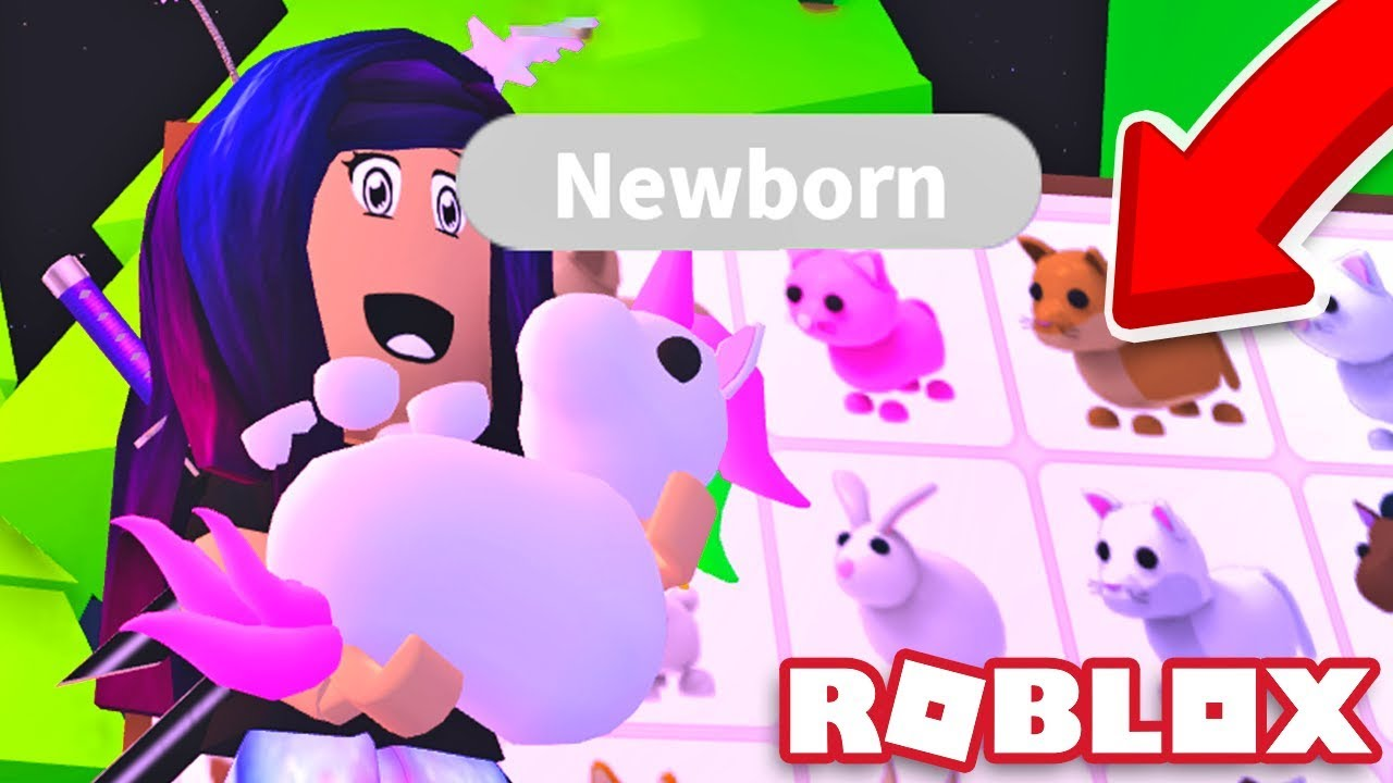 Getting EVERY PET in Roblox Adopt Me!