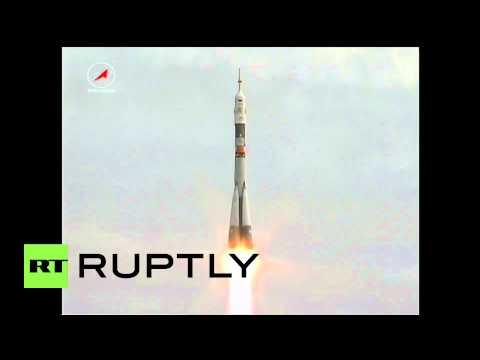 Kazakhstan: Soyuz TMA-18 launches trio crew to ISS