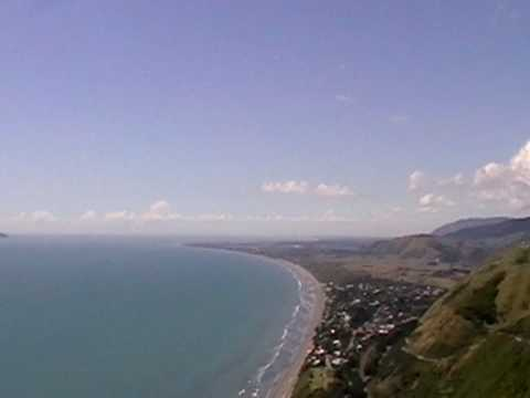 Vlog: View Of Paraparaumu & Kapiti Island - New Zealand