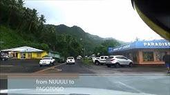 Let's drive to beautiful n clean American Samoa