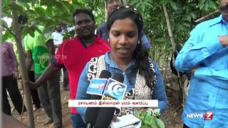 Kanchipuram Farmer lauded for growing as many as 500 trees | Tamil Nadu | News7 Tamil |
