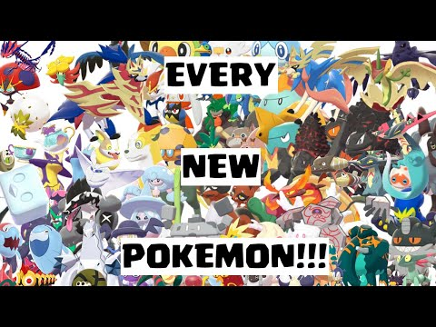 every-newly-released-gen-8-pokemon-cry!!!-pokemon-sword-and-shield!!!